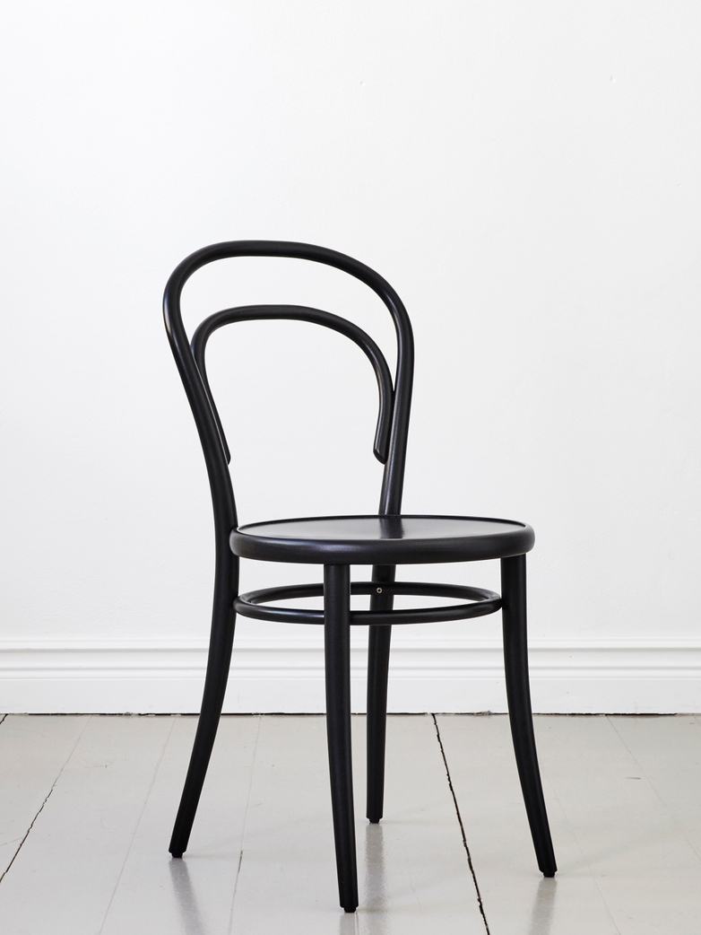 Black - Wood Seat