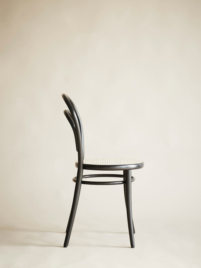 Chair No 14 – Black - Cane