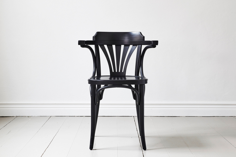Armchair No 24 – Black - Wood