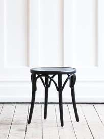 Stool No 60  – Black – Wood