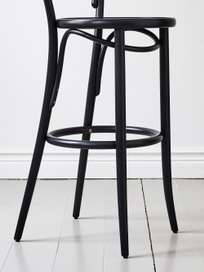 Barstool No 14 – Black – Wood – 76 cm