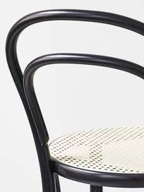 Barstool No 14 – Black – Cane – 76 cm