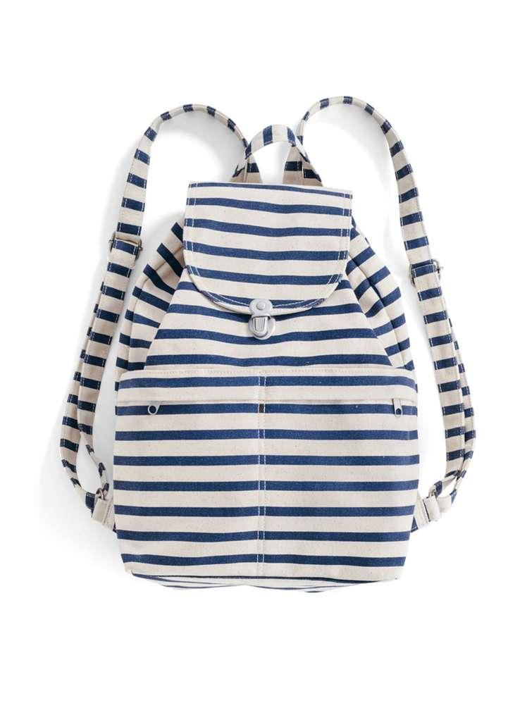 Backpack - Stripe Canvas