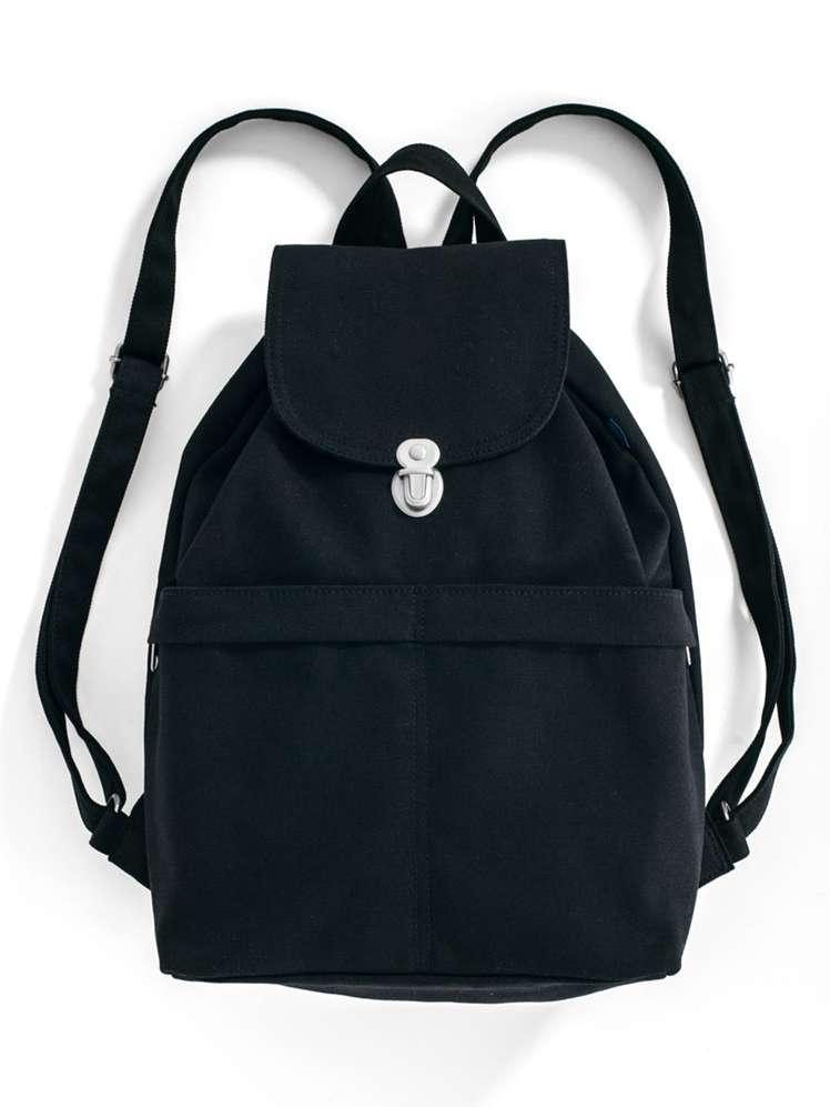 Backpack - Black Canvas