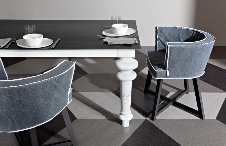 Gray 33 Dining Table