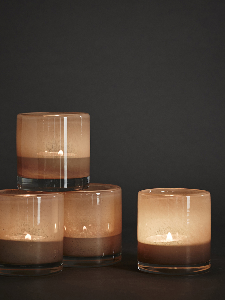 Belle Candle Holder – Beige – XS