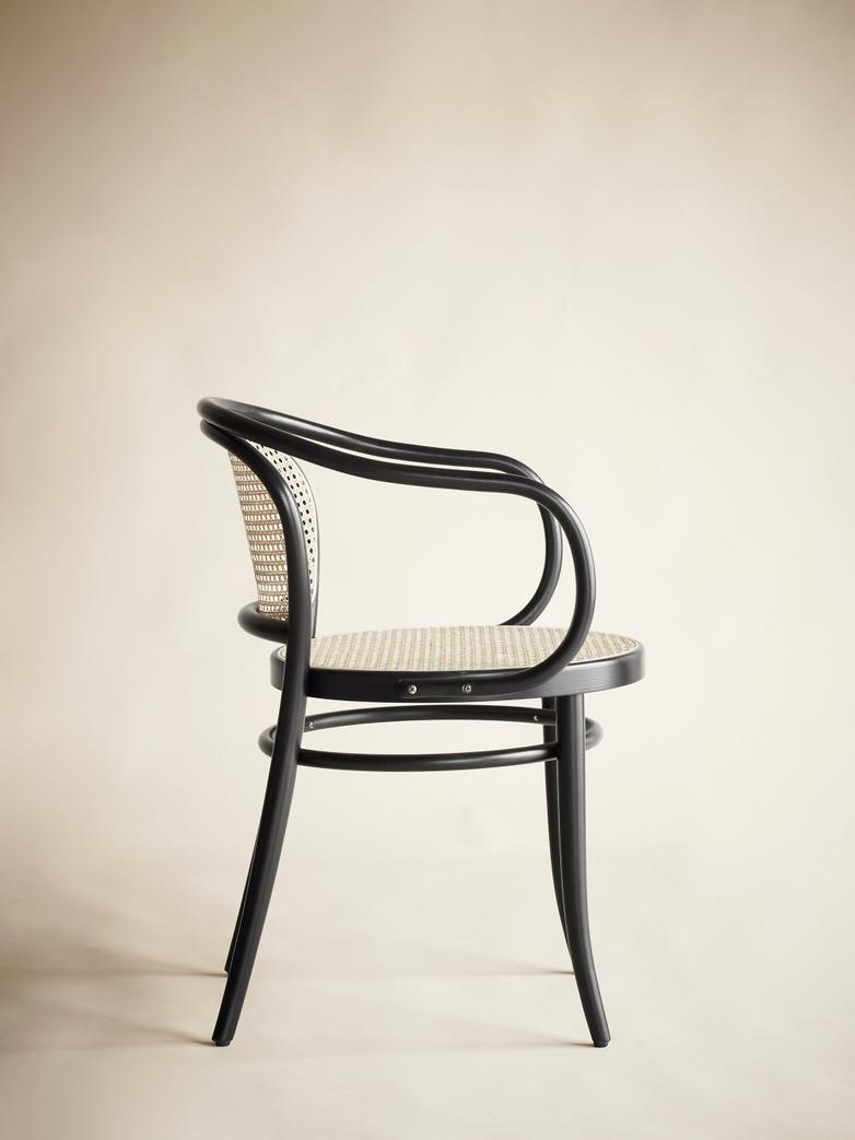 Armchair No 33 – Black - Cane