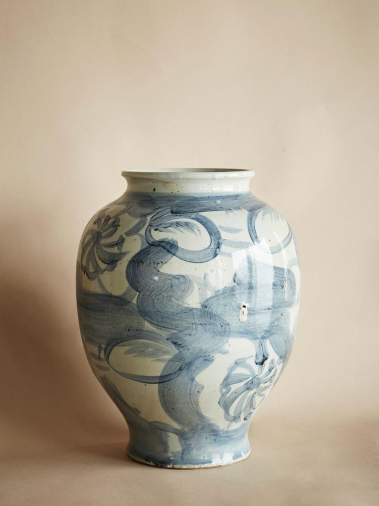 Blue Pot - Large