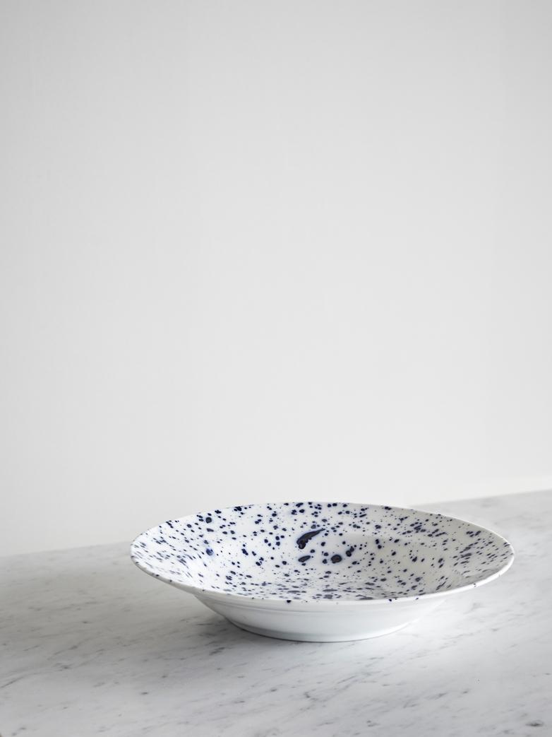 Blue Magma Round Bowl 29 cm