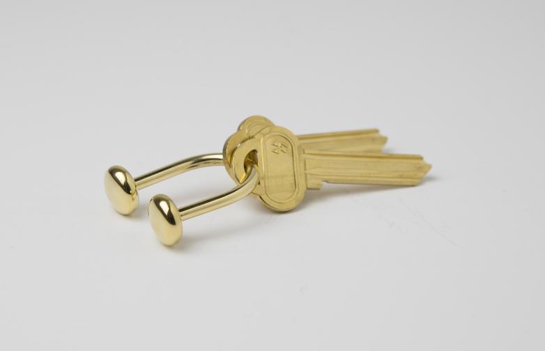 Keyring Brass