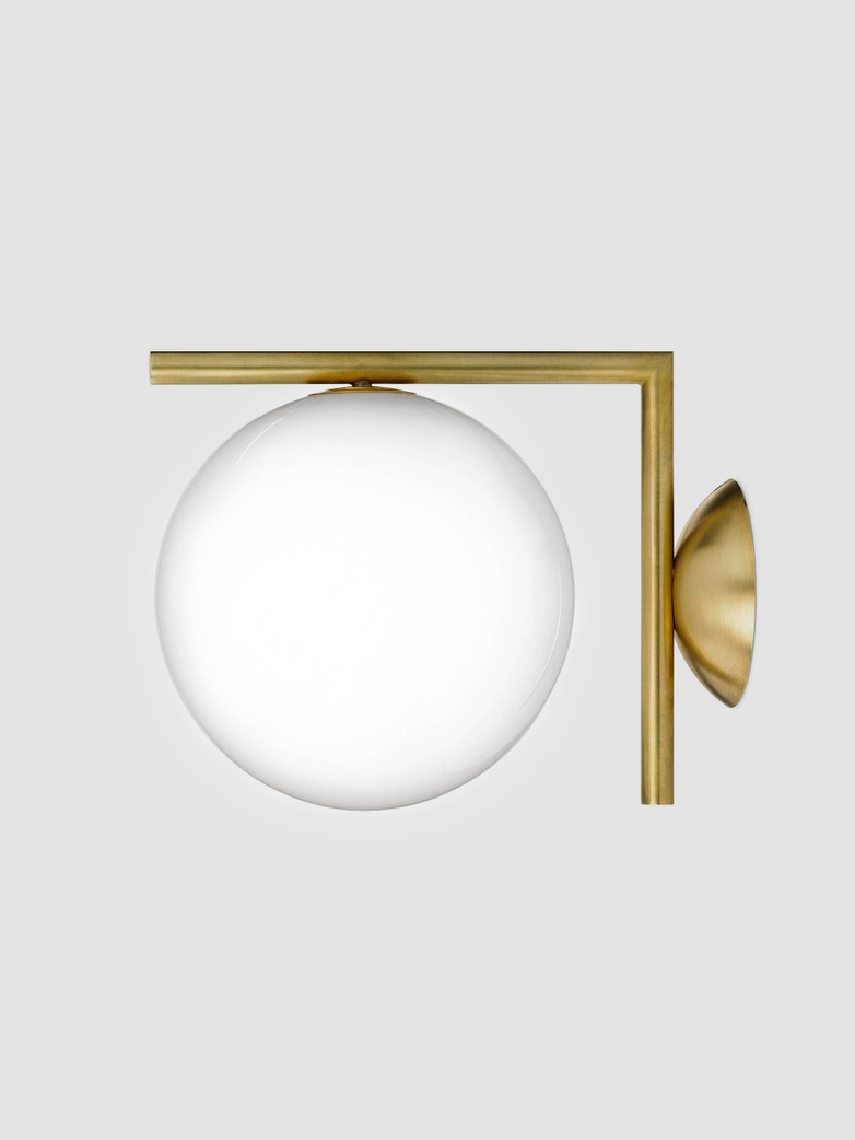 IC Lights Wall Lamp – Brass
