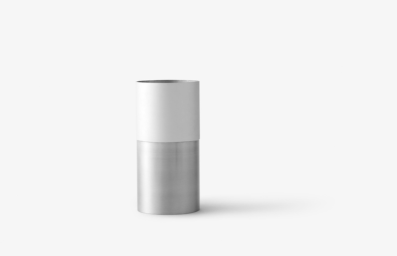 True Colour Vase White - Aluminum